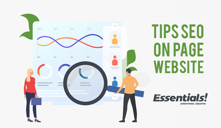 tips seo on page website